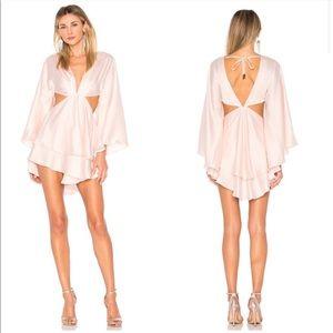 Michael Costello Revolve Allete Pink Dress New